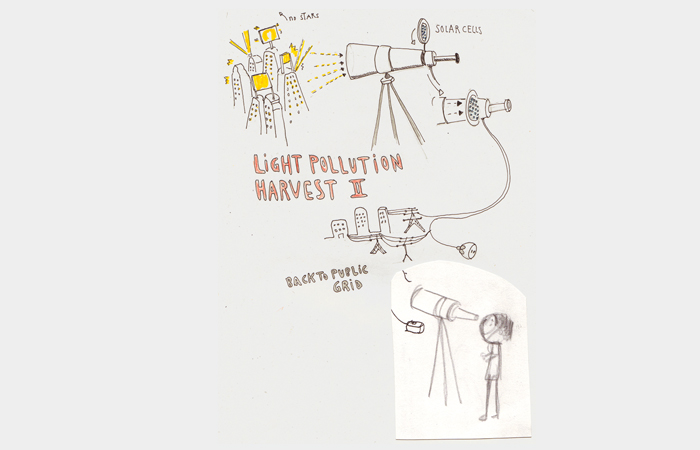 Sketch: Light Pollution Harvest II