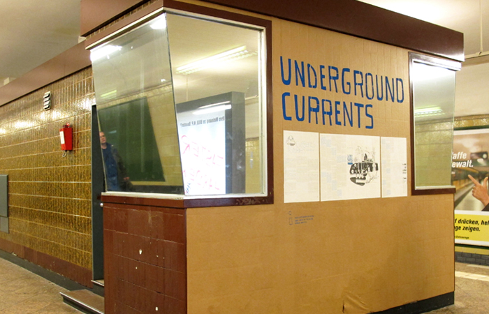 Underground Currents Installation