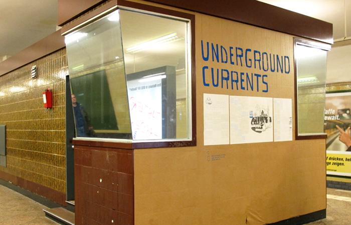 Underground Currents Installation